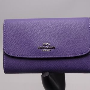 Coach Medium Envelope Wallet Light Purple